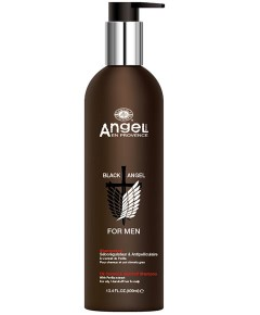 Black Angel For Men Oil Control And Dandruff Shampoo