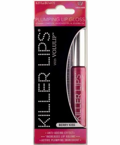 Killer Lips With Volulip Berry Kiss Plumping Lip Gloss