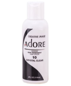 Adore Shining Semi Permanent Hair Color Crystal Clear