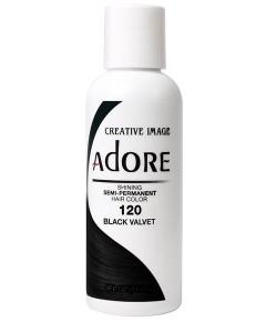 Adore Shining Semi Permanent Hair Color Black Velvet