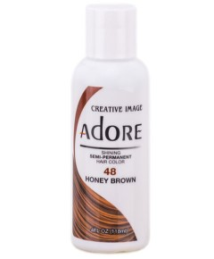 Adore Shining Semi Permanent Hair Color Honey Brown