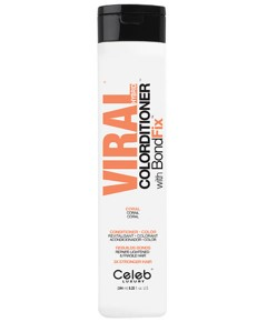 Viral Hybrid Coral Colorditioner With Bondfix Conditioner
