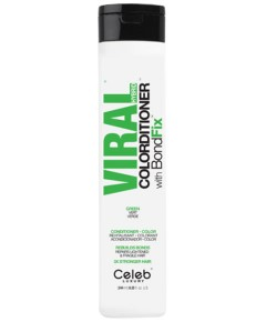Viral Hybrid Green Colorditioner With Bondfix Conditioner