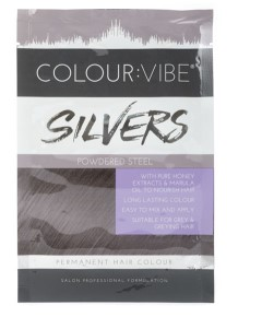 Silvers Permanent Hair Colour Powdered Steel