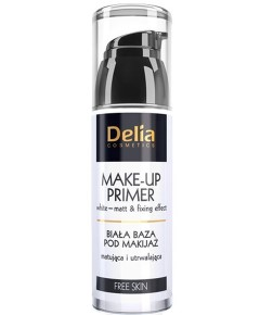Delia Cosmetics White Matt And Fixing Effect Make Up Primer