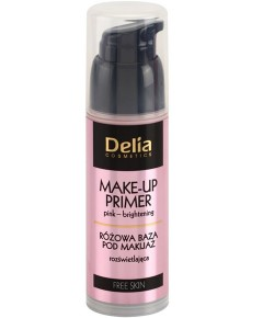 Delia Cosmetics Pink Brightening Make Up Primer