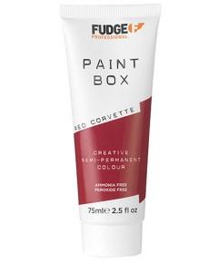 Paint Box Creative Semi Permanent Hair Colour Red Corvette