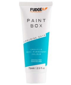 Paint Box Creative Semi Permanent Hair Colour Turquoise Days