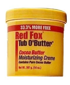 Red Fox Tub O Butter Cocoa Butter Moisturizing Cream
