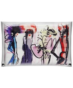 Free Designer Scarf By Label.M 154258