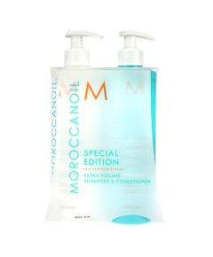 Moroccanoil Special Edition Extra Volume Shampoo And Conditioner