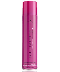 Silhouette Color Brilliance Hairspray Super Hold