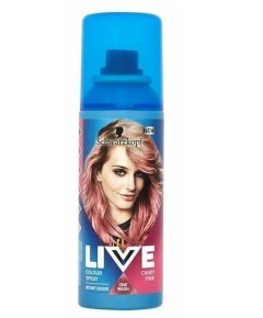 Live One Wash Colour Spray