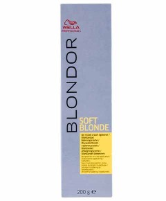 Blondor Soft Blonde Oil Mixed Cream Lightener