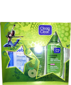 Clean And Clear Morning Energy Shine Control Kit