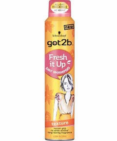Got2b Texture Fresh It Up Lush Floral Dry Shampoo