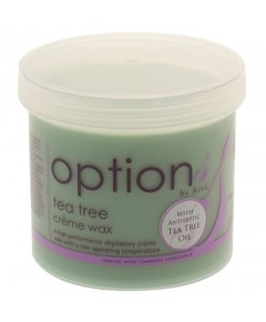Options Tea Tree Creme Wax