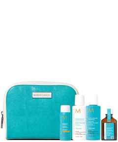 Moroccanoil Essential For Volumising And Maintaining Your Styles Travel Bag