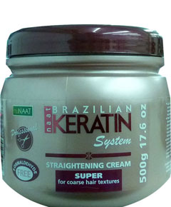 Brazilian Keratin Straightening Cream
