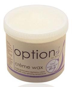 Options Creme Wax