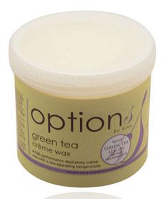 Options Green Tea Creme Wax