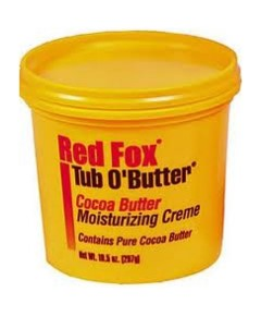 Red Fox Tub O Butter Cocoa Butter Moisturizing Cream
