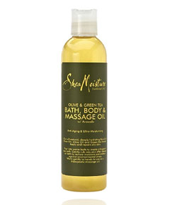 Olive And Green Tea Bath Body And Massage Oil