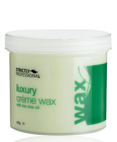 Strictly Professional Luxury Creme Wax With Tea Tree Oil