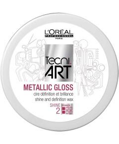 Tecni Art Metallic Gloss Shine And Definition Wax