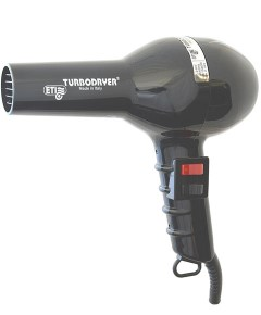 ETI Turbodryer 2000 Black Professional Hairdryer