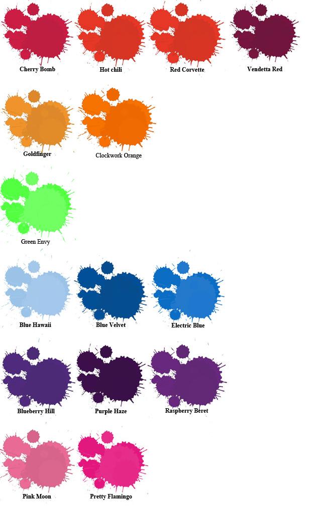 Fudge Paintbox Colour Paint Box Hair Colour