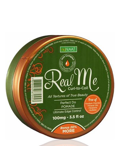 Nunaat real me real me curl to coil perfect do pomade for Perfect bake pro system