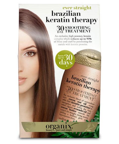 Organix Brazilian Keratin Therapy | Brazilian Keratin Therapy 30 Day Smoothing Treatment ...