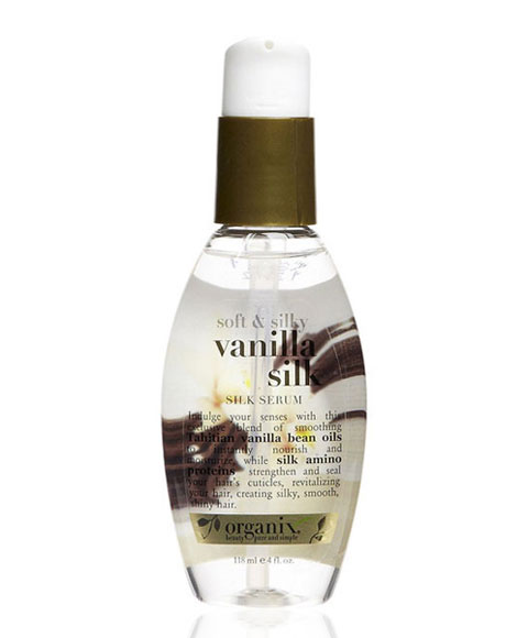 Organix Vanilla Silk Soft And Silky Vanilla Silk Silk