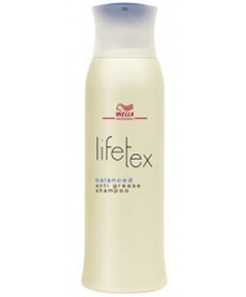 Wella lifetex life tex balanced anti grease shampoo - Wella salon professional hair products ...